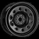 17x8 Black Modular 6x114.3 ET-12
