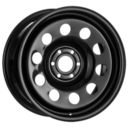 17x8 Black Modular 6x114.3 ET20