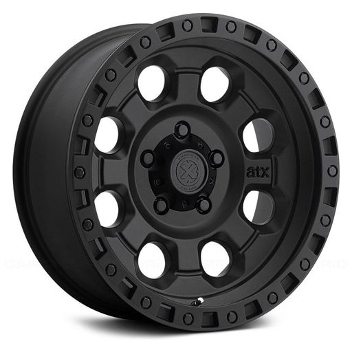 16x8 AR201 Cast Iron Black 5x139.7 ET00