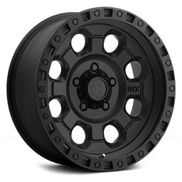 16x8 AR201 Cast Iron Black 5x139.7 ET00