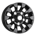 16x7 Black Sawtooth 5x165.1 ET20